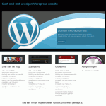 website wordpress-website.waarvindjedie.nl